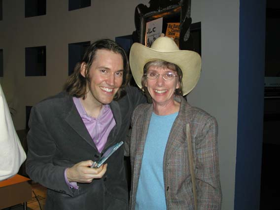 David Rawlings and Judy Daussman